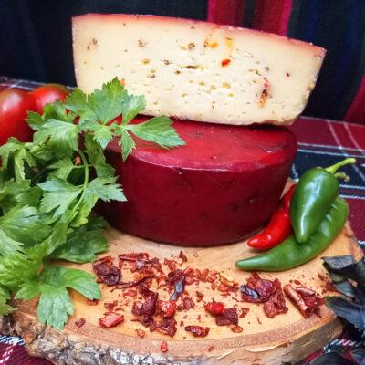 """Сыр полутвёрдый """"Пикантный"""" с травами"""